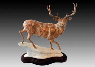 Mule Deer Bronze Sculpture | Aspen Aristocrat