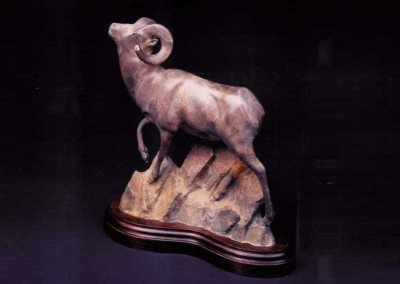Bighorn Ram Bronze Sculpture | Canyon Commandant