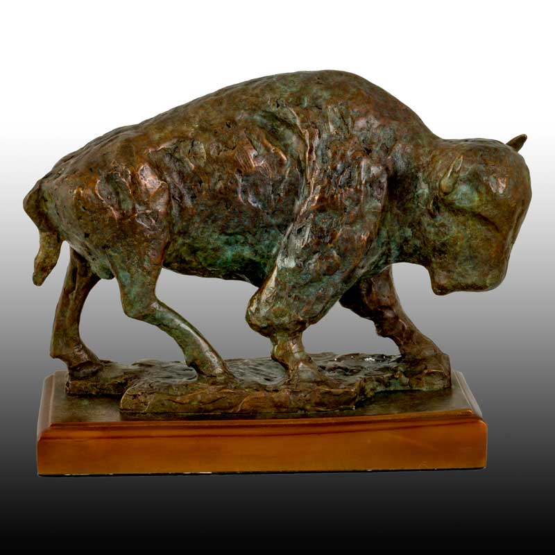 Bison Sculpture