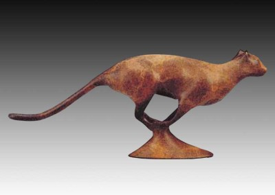 Cougar Bronze Sculpture | The Hunter