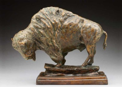 Rustic Buffalo Sculpture | Once There Were Many