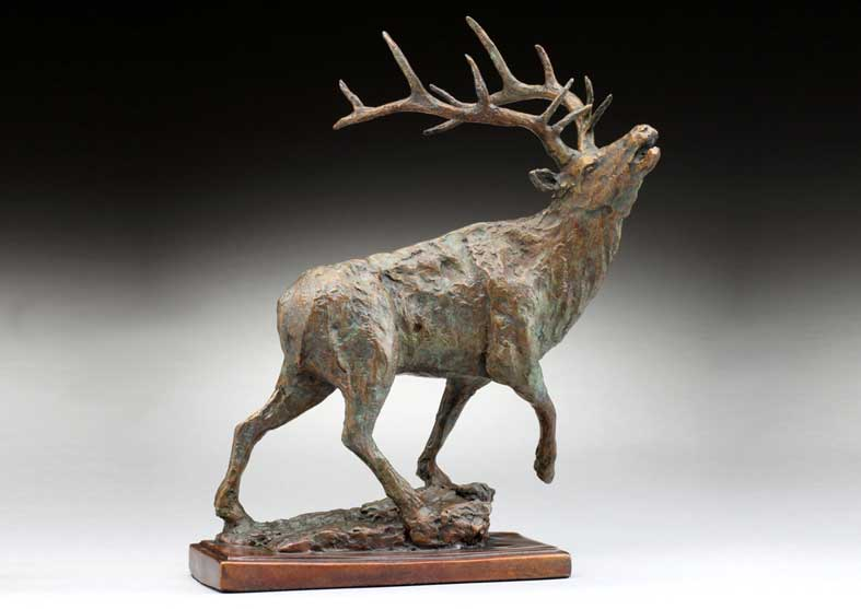 Rustic Elk Sculpture | The Challenge