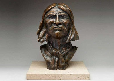 Figurative Bronze Sculpture | Geronimo