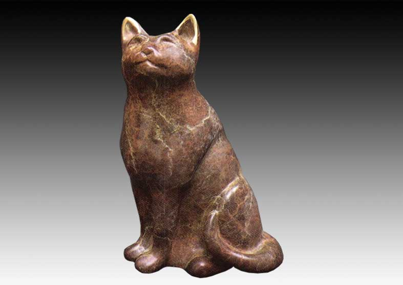 Cat Bronze Sculpture | Miss Kitty