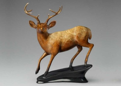 Deer Bronze Sculpture | In His Prime