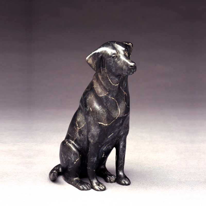 Takin' Me? Black Lab Sculpture