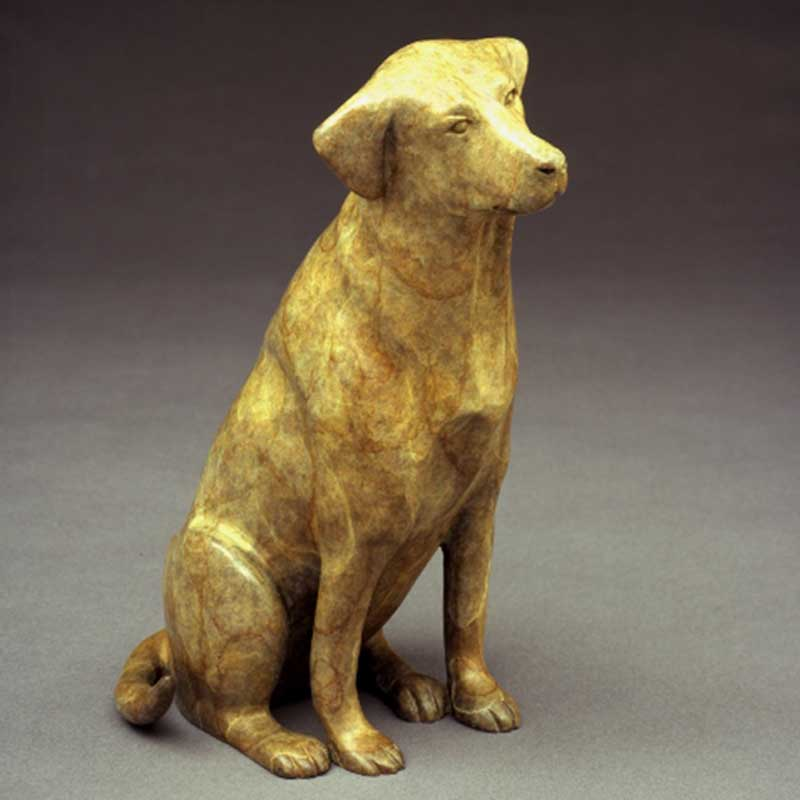 Takin' Me? Yellow Lab Sculpture