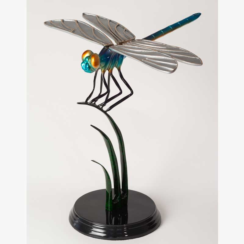 Dragonfly Bronze Sculpture