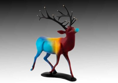 Elk Bronze Sculpture | Color Me Gone