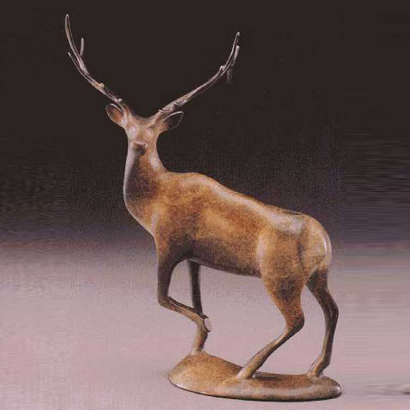 Elk Bronze Sculpture, The Majestic One