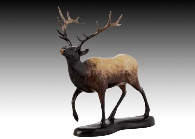 Elk Bronze Sculpture | Mountain Monarch II