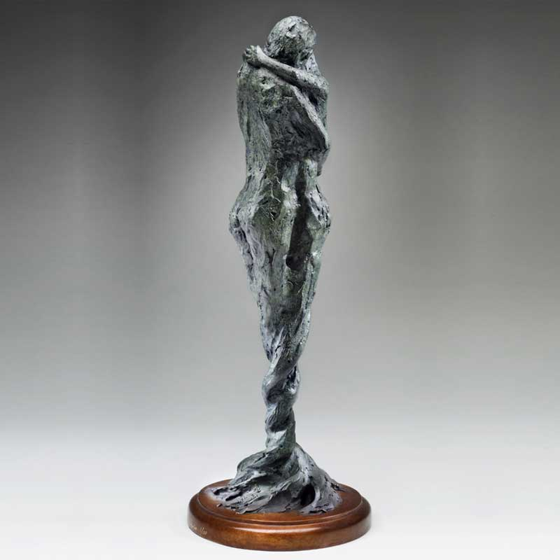Figurative Sculpture, Entwined Spirits