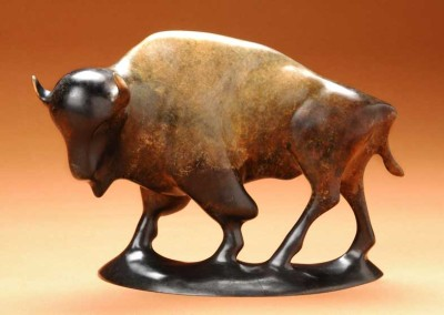 Buffalo Bronze Sculpture | King Thunder