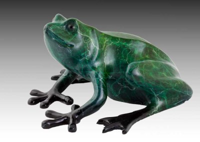 Frog Bronze Sculpture | Freddie