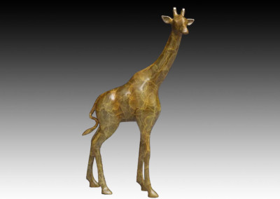 Gentle Giant | Giraffe Bronze Sculpture