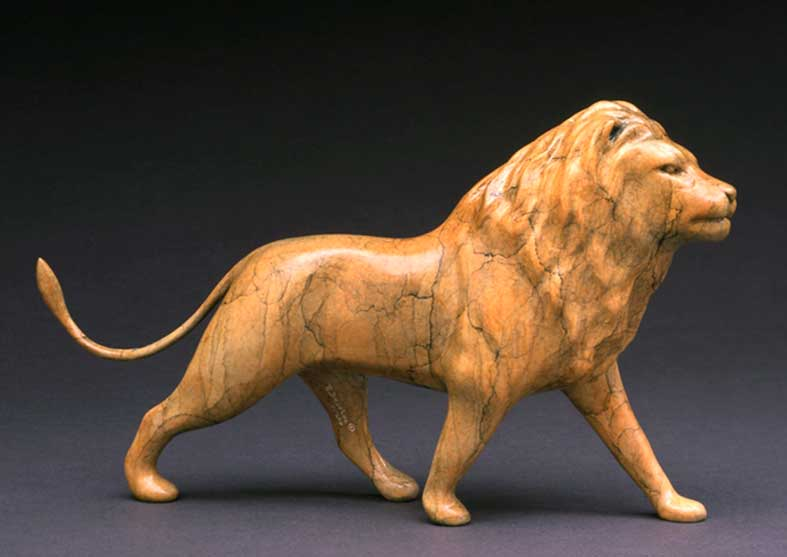 Lion Bronze Sculpture | His Majesty