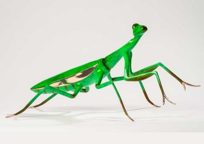 Praying Mantis Bronze Sculpture – Let us Pray