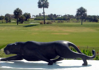 Panther Bronze Monument | Prowler III