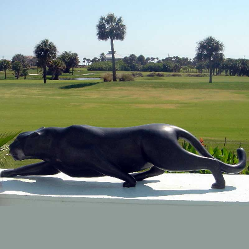 Panther Bronze Monument, Prowler III