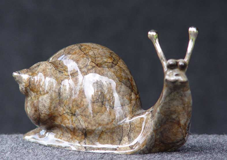 Snail Bronze Sculpture | Harvey