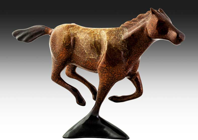 Horse Bronze Sculpture | Wildfire