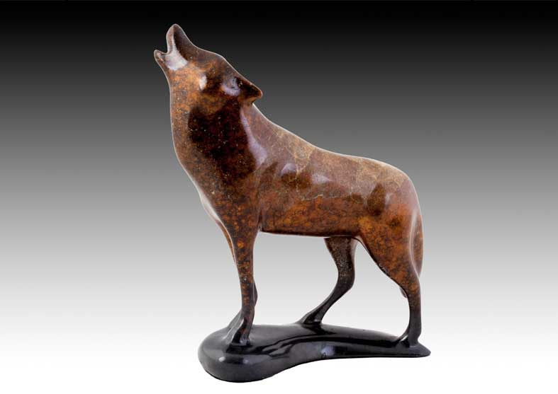 Wolf Bronze Sculptures | Call of the Wild